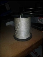 Spool of thick rope