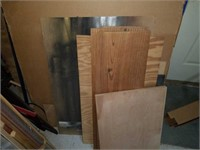 Bay full of Wooden Framing Pieces & Misc Wood