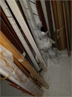 Bay full of Wooden Framing Pieces