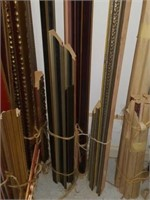 Large lot of framing pieces