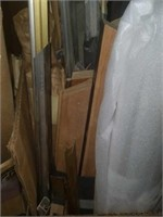 Two boxes of Misc Metal Framing Pieces