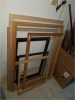 Lot of 7 frames various sizes