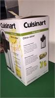 New Cuisinart Citrus Juicer w/ Pulp Control