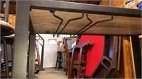 Rolling Wine Rack Cart