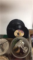 Old Barbies, Records, Crock, Plate, Knick K