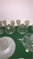Candle Holders, Globes, Quill Holders, Etc.
