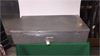 Metal Trunk w/ Pictures