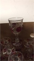Box of Glass Goblets
