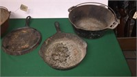 4- Cast Iron Pieces- See Pics