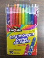Lot of 120 Cra-Z-Art Twist Up Crayons $48