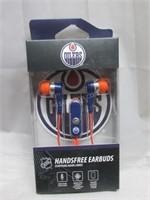 NHL Edmonton Oilers Earbuds w/ mic