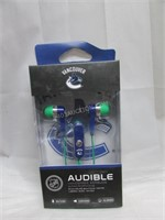 NHL Vancouver Canucks Earbuds w/ mic