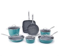 Curtis Stone 12-Piece Dura-Pan Cookware Set $400