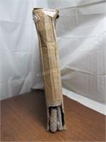 "63"" Tall Metal Flower Wind Spinner Yard Stake $70"