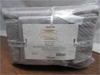 Elegance Spa 100% Cotton 10pc Jacquard Towel Set