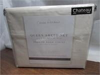 Casa Platino 1000TC 100% Cotton Sheet Set Q