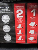 Who-Rae Front & Rear Seat Cover Kit