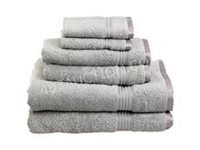 Elegance Spa Luxurious 6 Piece Cotton Towel Set