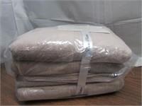 Cassa Platino 4-Piece 100% Cotton Bath Towel Set