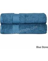 Elegance Spa 2pc Low Twist Cotton Bath Sheets
