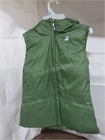 K-Way Women's Coraline Thermo Air Vest Jacket SZ 8