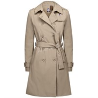 K-Way Women's Desiree Marmotta Trenchcoat Size 8