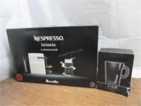 Nespresso by Breville Inissia Coffee Maker Bundle