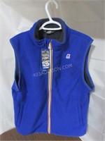 K-Way Men's Yannick Bonded Fleece Vest Large $135