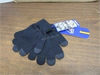 K-Way Alfred Cardigan Stitch Gloves SZ 3