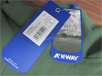 K-Way Men's Gastone Micro Twill Jacket Large $540
