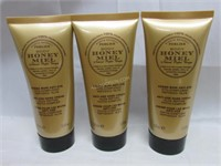 Lot of 3 Perlier Honey Peptide Hand Cream $84