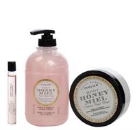 Perlier Honey Magnolia Bath and Body Trio $120