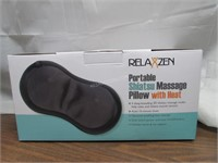 RelaxZen Shiatusu Neck Massager Pillow with Heat