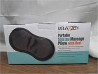 RelaxZen Shiatusu Neck Massager Pillow with Heat
