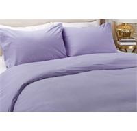 HomeSuite Micro Flannel Duvet Cover 3pc Set King