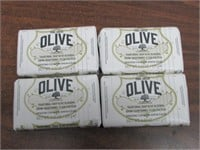 Lot of 4 Korres Greek Olive Oil & Blossom Bar Soap