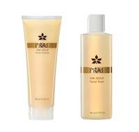 PRAI Beauty 24K Gold Cleanse & Tone Duo