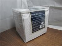 HomeSuite Micro Flannel 4pc Sheet Set Queen $100