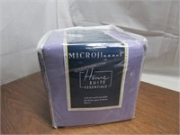 HomeSuite Micro Flannel 4pc Sheet Set Double $90