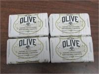 Lot of 4 Korres Greek Olive Oil & Blossom Bar Soap