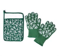 Temp-Tations Glove And Trivet Set