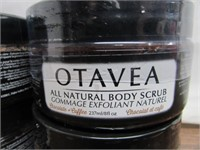Lot of 4 Otavea All Natural Body Scrubs 237ml