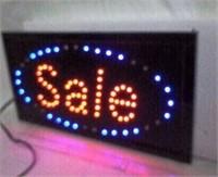 LED LIGHT UP SALE SIGN