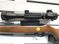 RUGER MOD 10/22 22 CAL RIFLE#35034393 W/ SCOPE