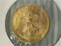 1945 2 PESO GOLD COIN