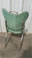 Single kitchen chair in 40's style. Vinyl still