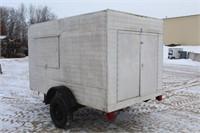 Homemade Enclosed Utility Trailer