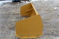 Skid Steer 6ft Snow Pusher, New