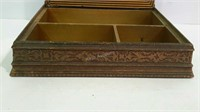 Jewelry box, vintage picture top style