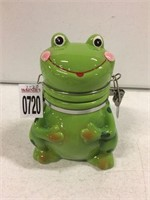 FROG HINGED JAR